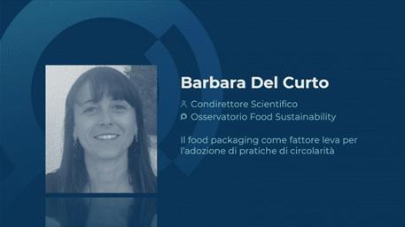 Barbara Del Curto, Condirettore Scientifico Osservatorio Food Sustainability