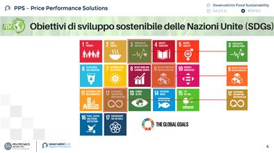 Slide PPS - Obiettivi di sviluppo sostenibile
